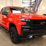 2019-2020 Red Chevrolet Silverado HD
